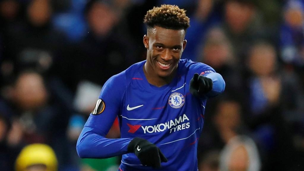 Great progress: Hudson-Odoi has been recovering from coronavirus PICTURE: REUTERS