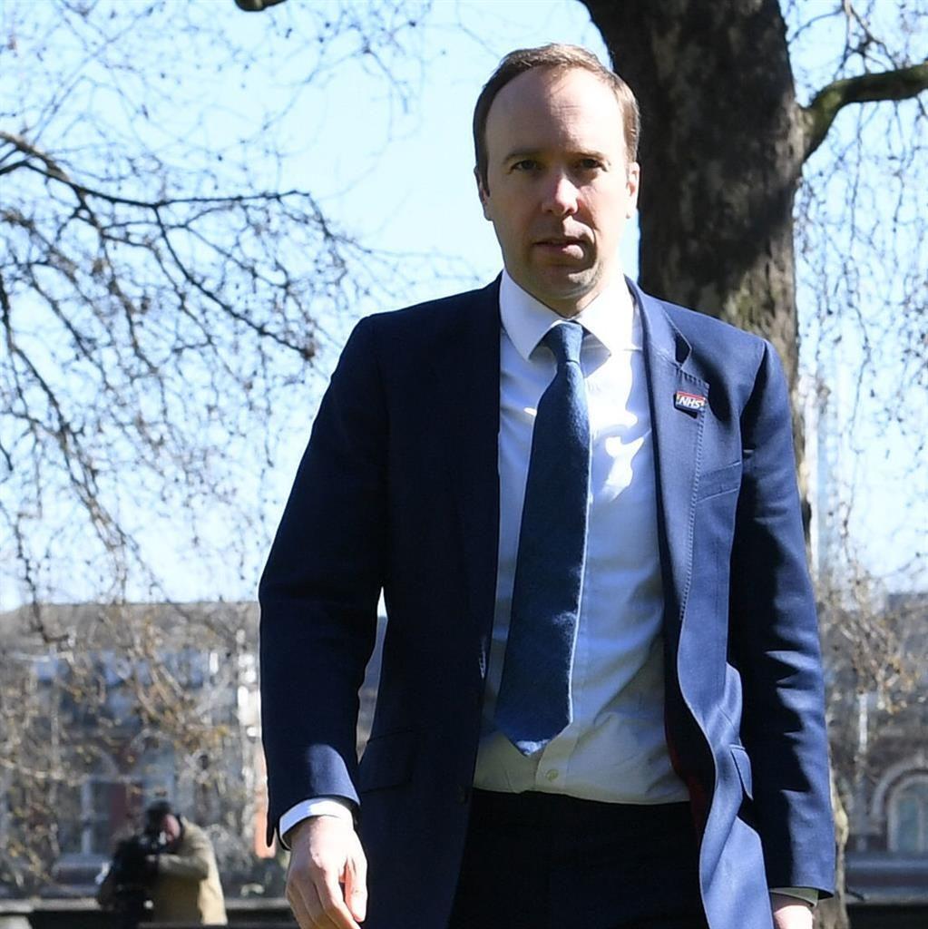 'Selfish': Health secretary Matt Hancock has criticised people who have ignored government advice PICTURE: PA