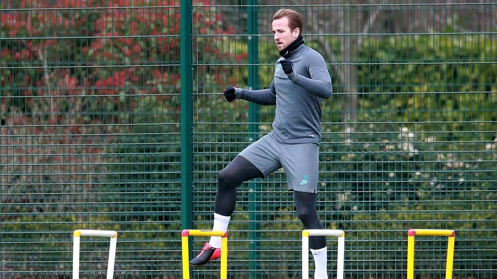 Road to recovery: Kane has issued a positive update PICTURE: PA