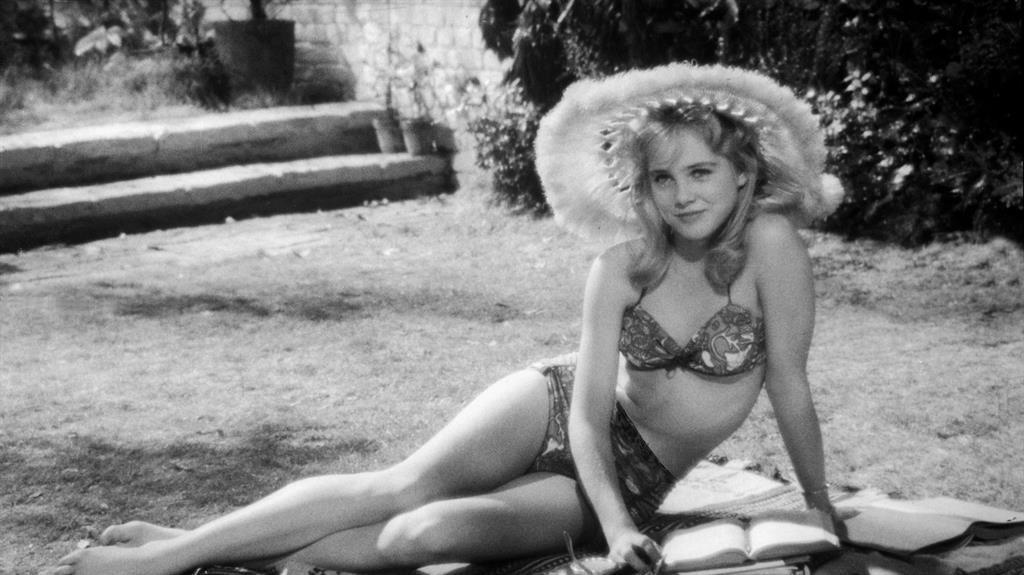 Startling: Sue Lyon in Stanley Kubrick's film adaptation of Nabokov's Lolita