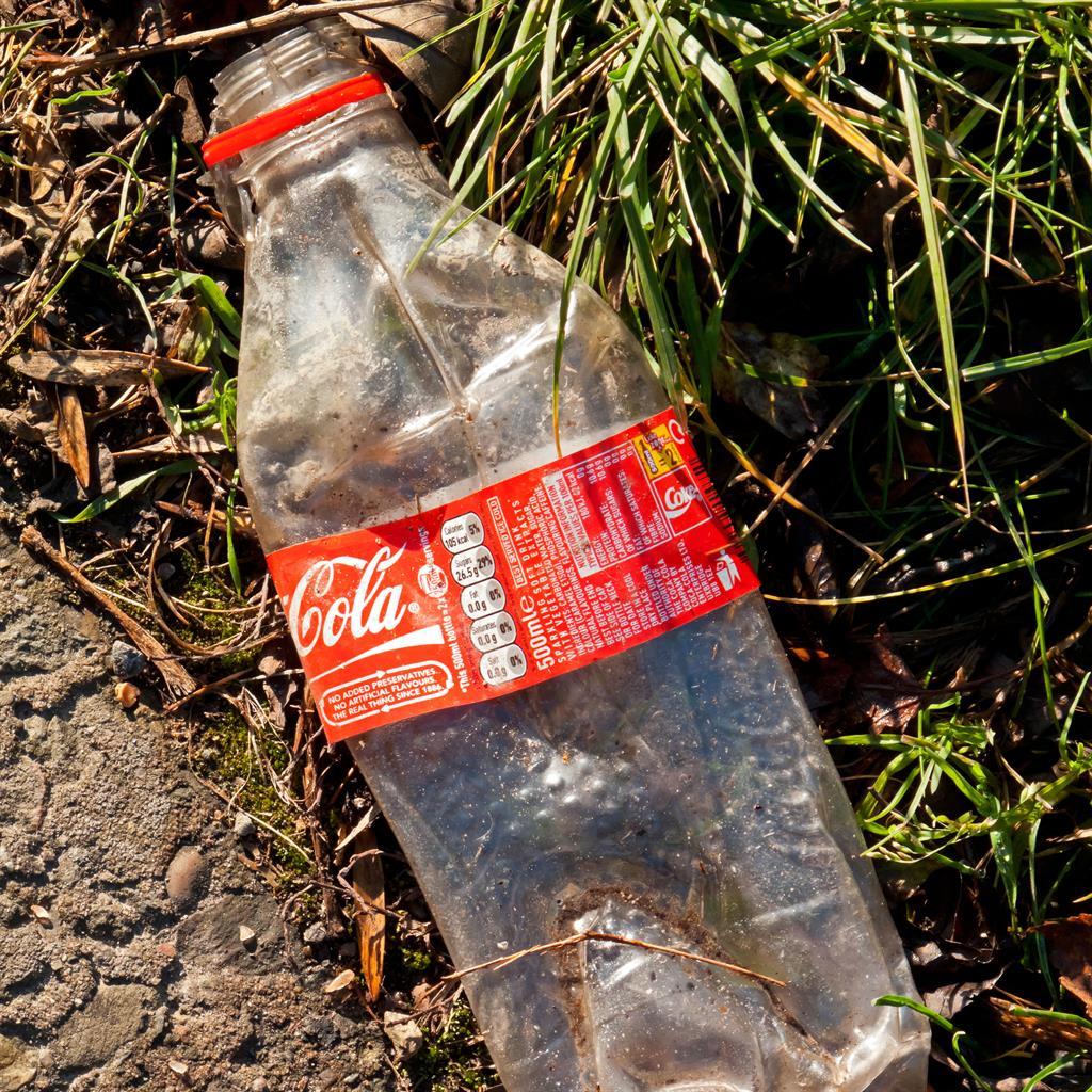 Waste: Plastic Coca-Cola bottle PICTURE: ALAMY