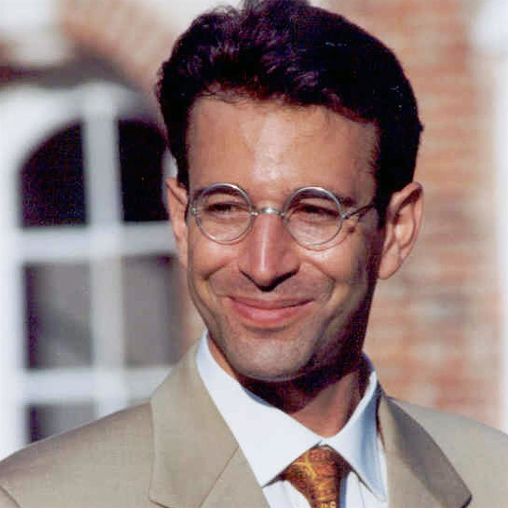 Victim: Daniel Pearl and terrorist Omar Saeed Sheikh (below), who is to be freed