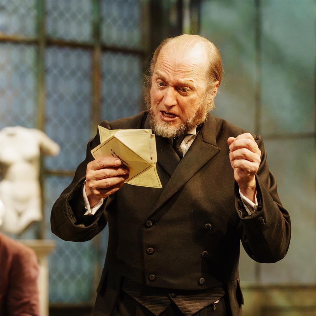 Delirium: Ade Edmondson is Malvolio