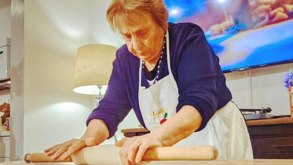 Pasta master: Nonna Nerina in action