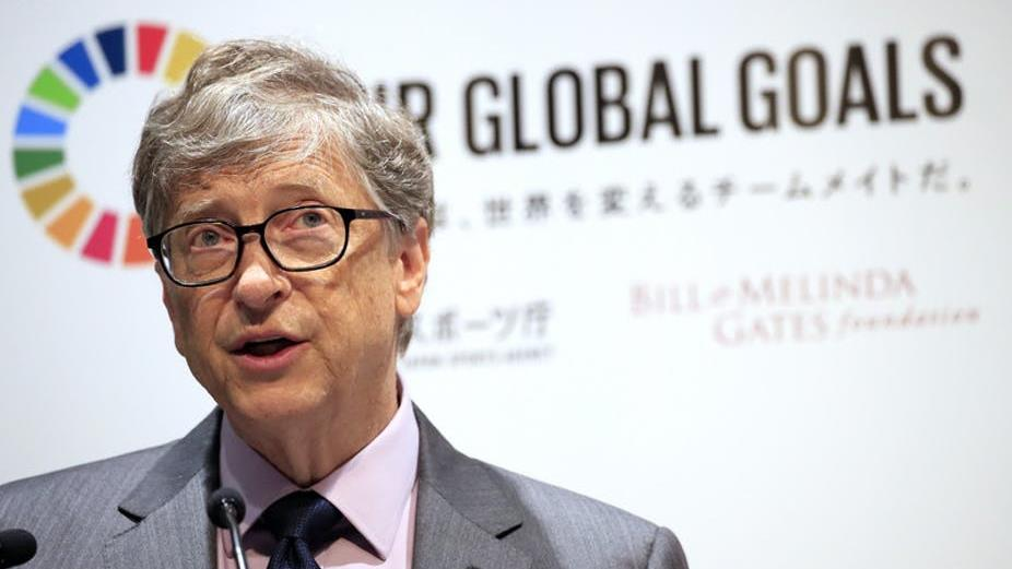 Bill Gates: WHO funder-in-chief? PICTURE: EPA/FRANCK ROBICHON