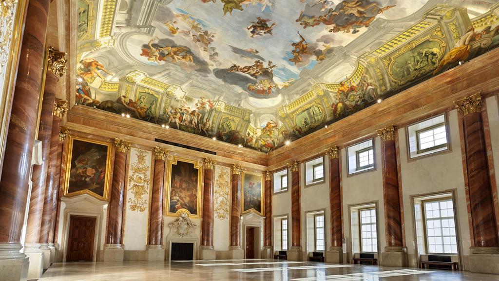 Baroque formation: Liechtenstein City Palace… in Vienna