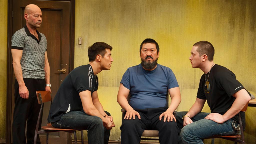 Powerful: James Macdonald portrays artist Ai Weiwei's imprisonment in China