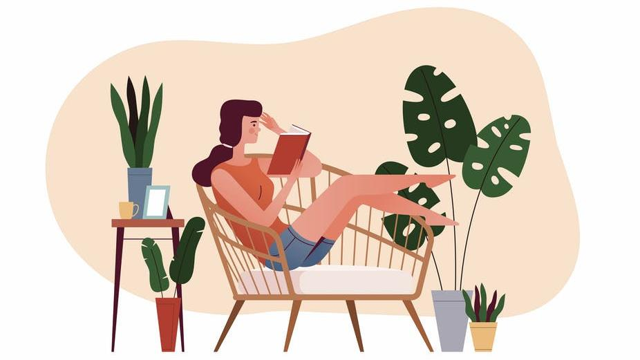 Poetry doesn't need to be meticulously studied: Like a novel, you can curl up on the sofa and read it for pleasure PICTURE: OQVECTOR/SHUTTERSTOCK