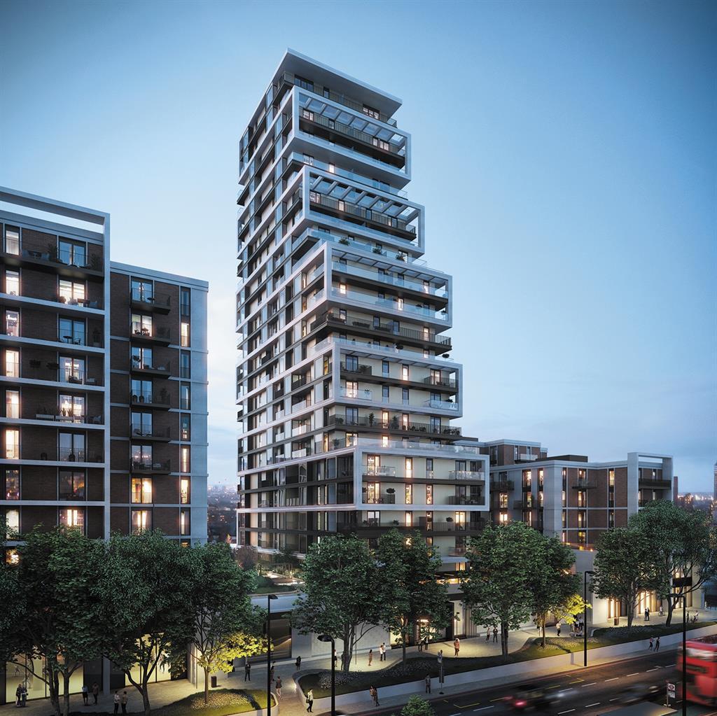 Flagship schemes: Coda in Battersea; a Weston Homes development in Watford, below