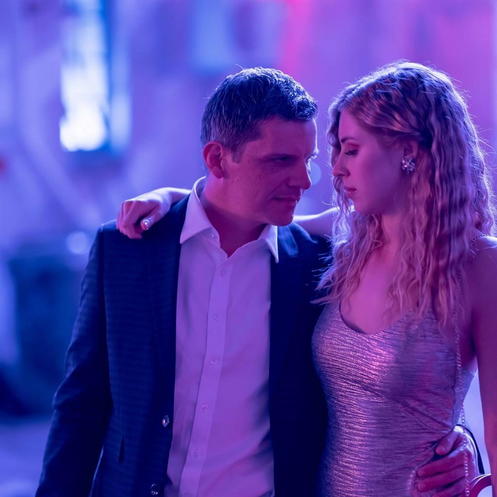 Deadly: Nigel Harman and Hermione Corfield in We Hunt Together