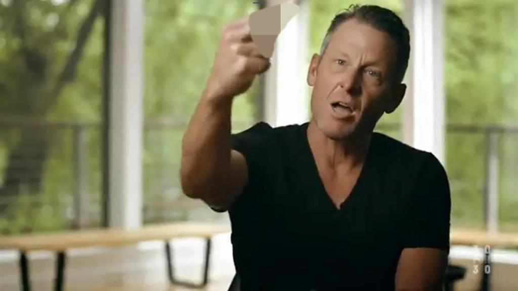 Compelling story: Armstrong remains a combative character