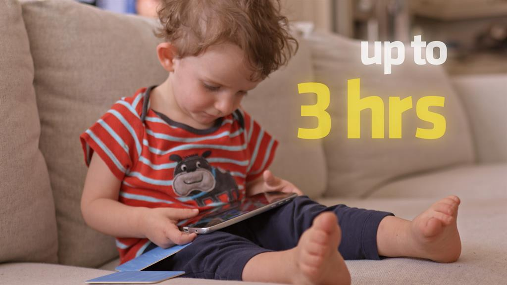Not app-y news: The programme warns over kids' screen time