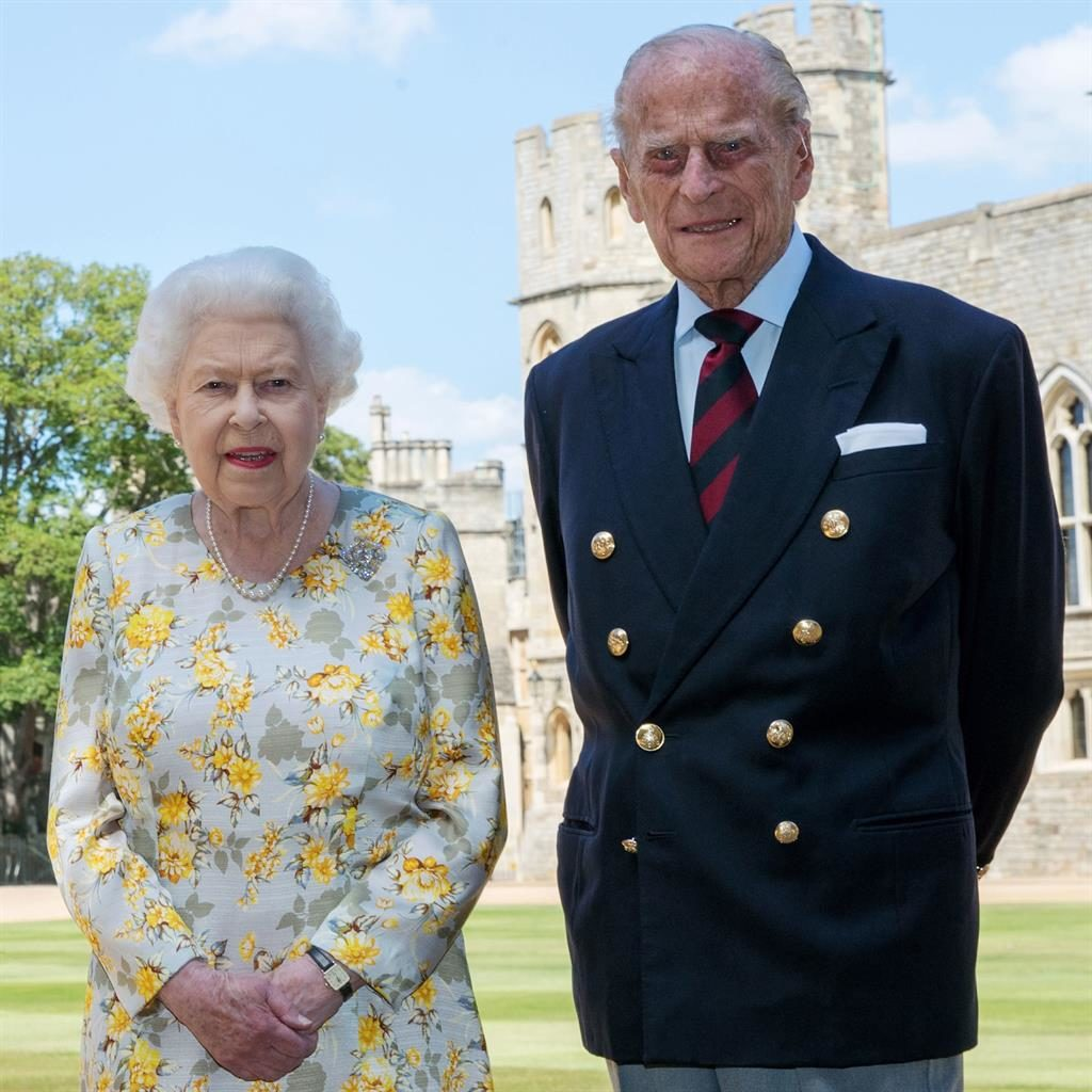 Prince Philip and Queen body language