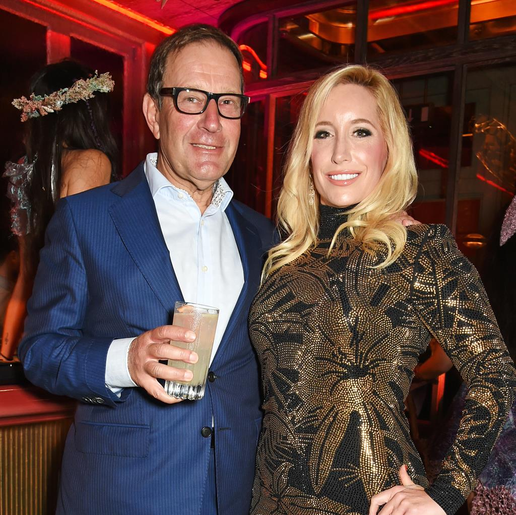 Party donation: Richard Desmond, pictured with his wife Joy in 2015 PICTURE: GETTY