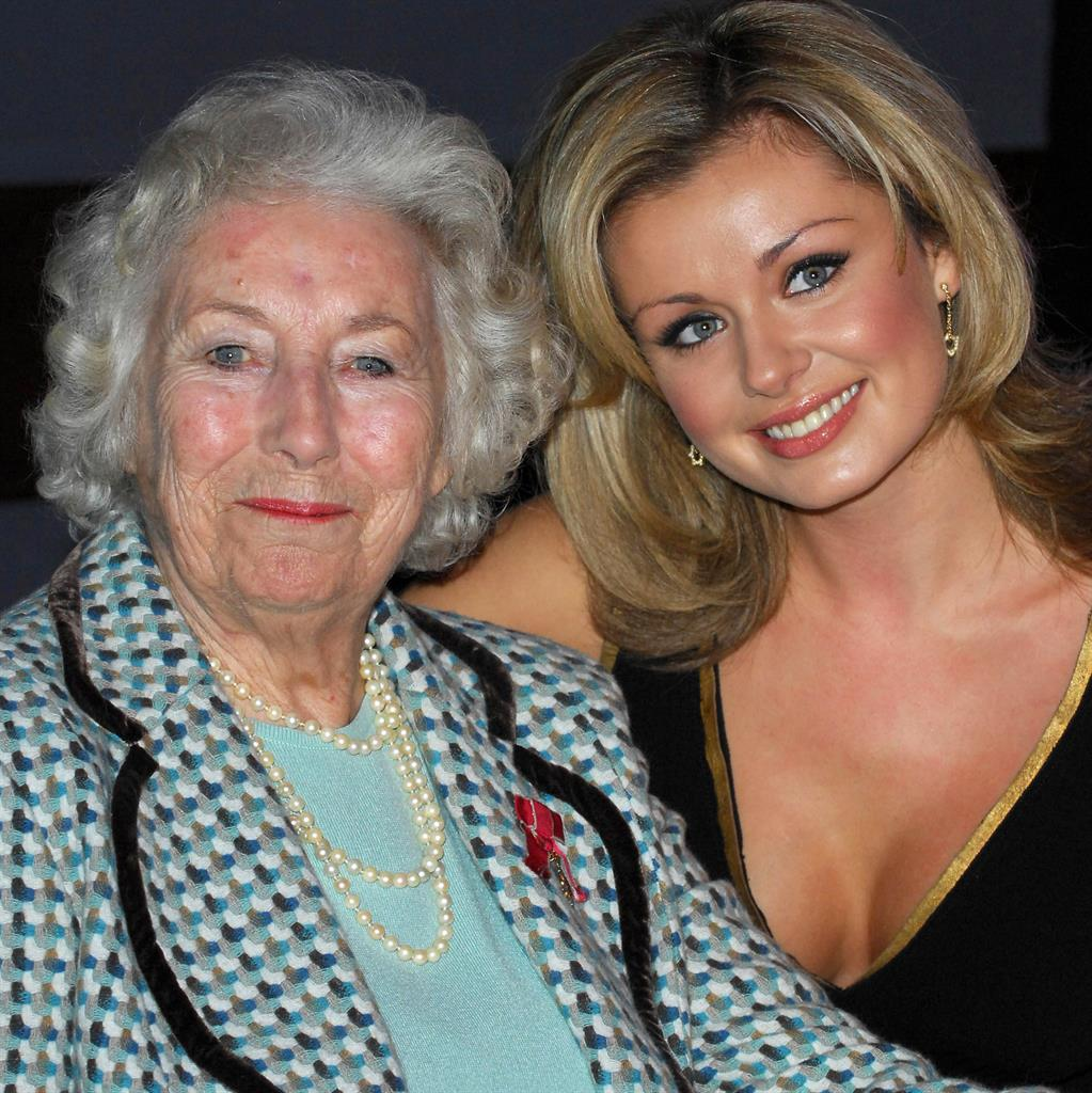 Voices of a generation: Dame Vera and Katherine Jenkins teamed up to release a single earlier this year PICTURES: REX/PA/REUTERS