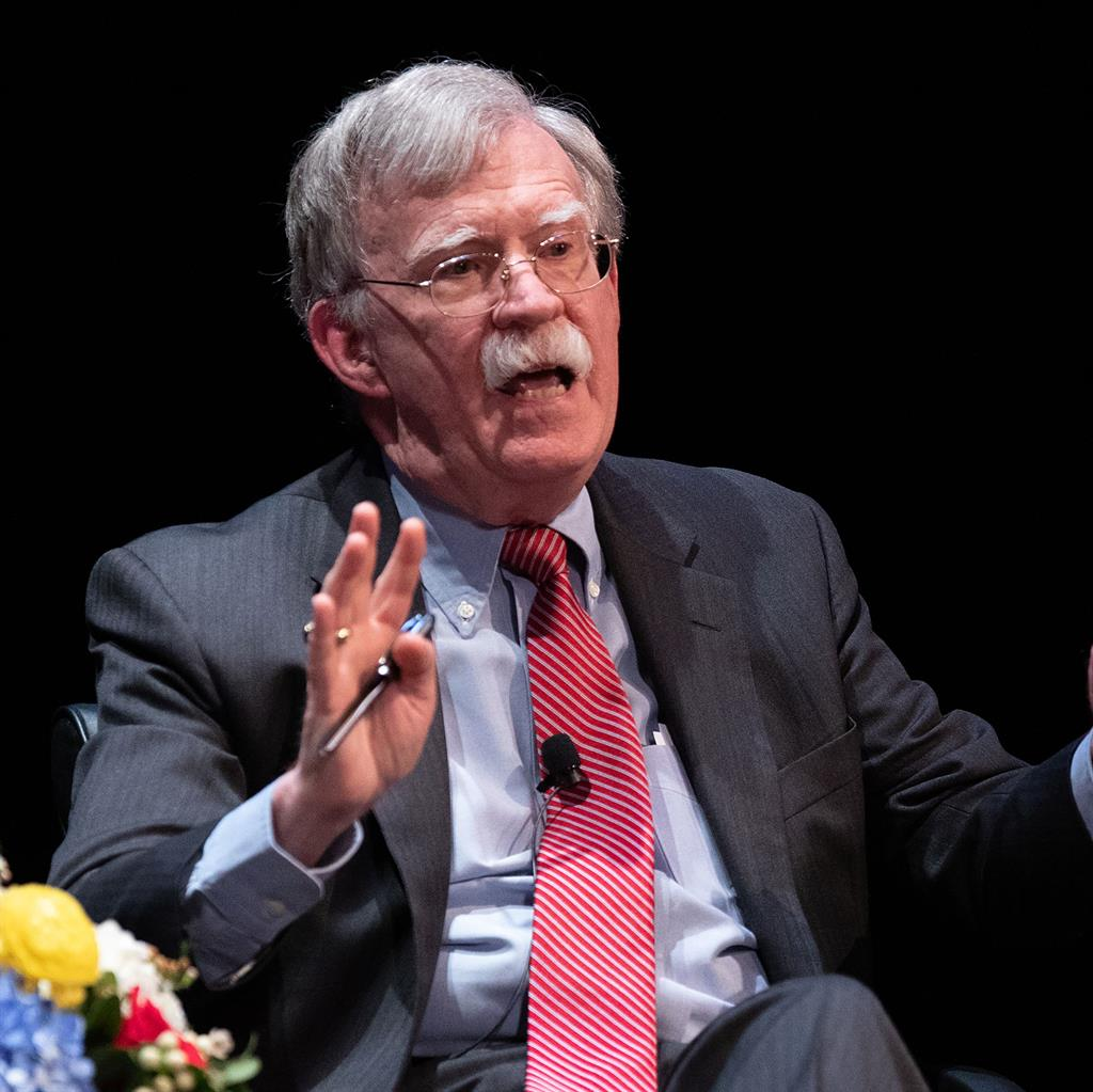 Words of warning: Former US national security adviser John Bolton PICTURE: GETTY