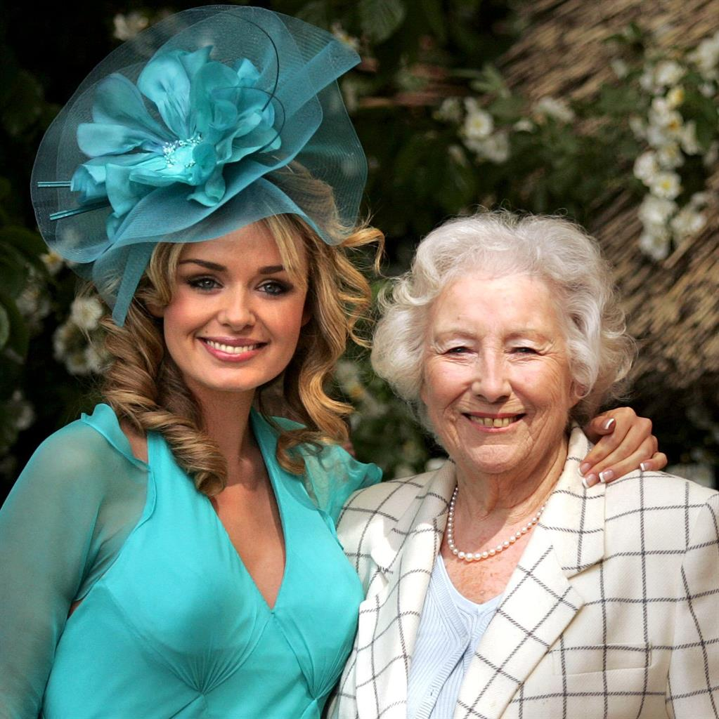 Duet: Katherine Jenkins and Dame Vera recorded a version of We'll Meet Again