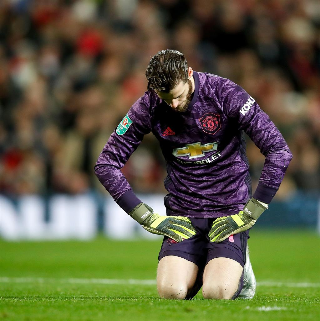Solskjaer hails under-fire De Gea as worlds best goalkeeper