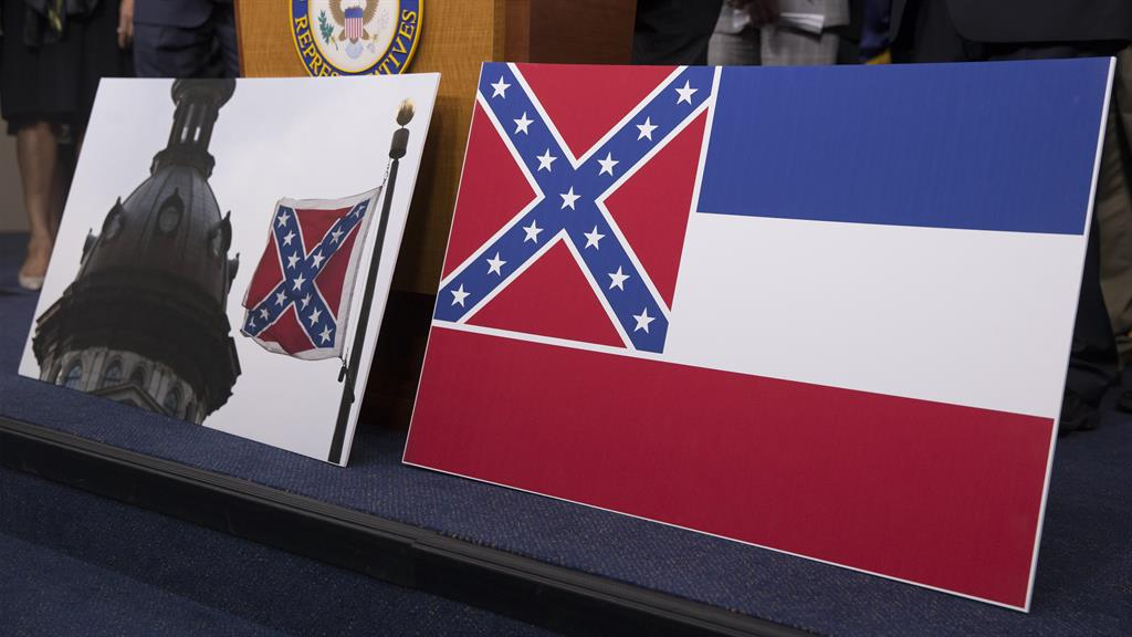MS legislature votes to replace state flag that includes Confederate elements