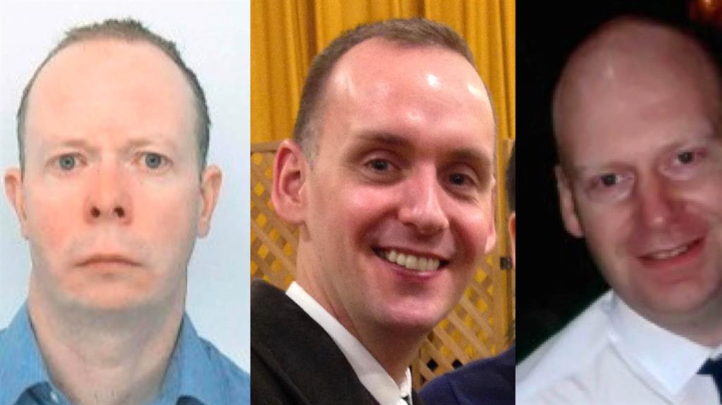 Victims: From left, David Wails, Joe Ritchie-Bennett and James Furlong