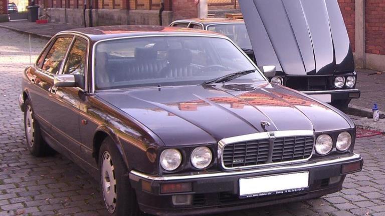 Re-registered Brueckner was linked to this 1980s Jaguar XJR6