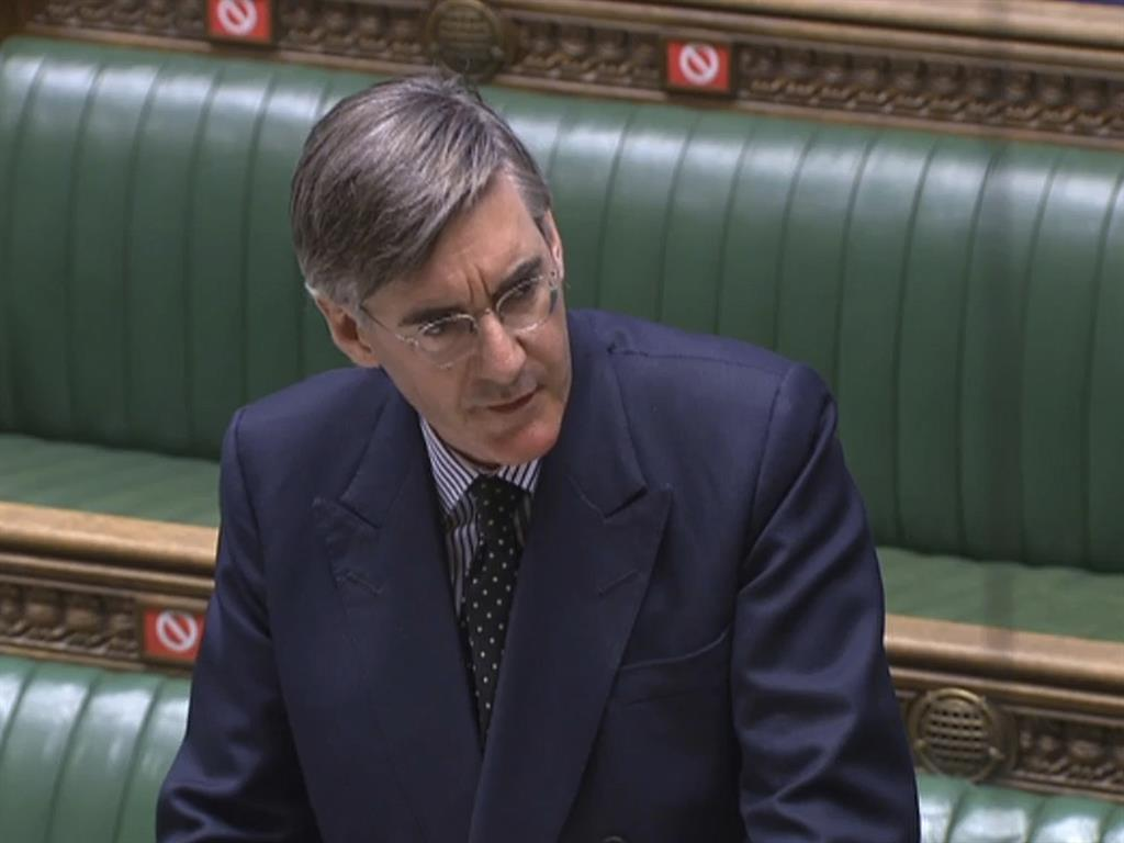 Change the tune Jacob Rees Mogg faces anger from MPs still fuming in Commons over 'Mogg conga