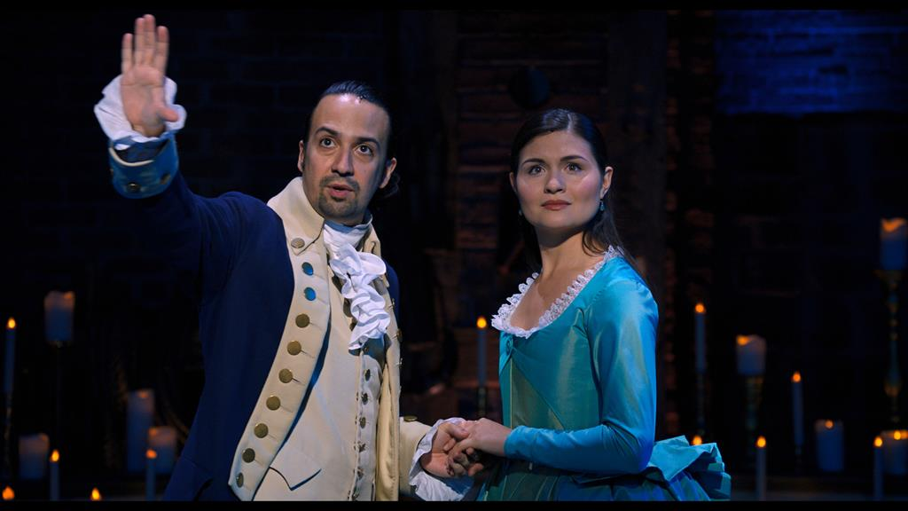 Revolutionary: Star turns from Lin-Manuel Miranda and Phillipa Soo help transform the hit stage show into a bankable TV crowd-pleaser