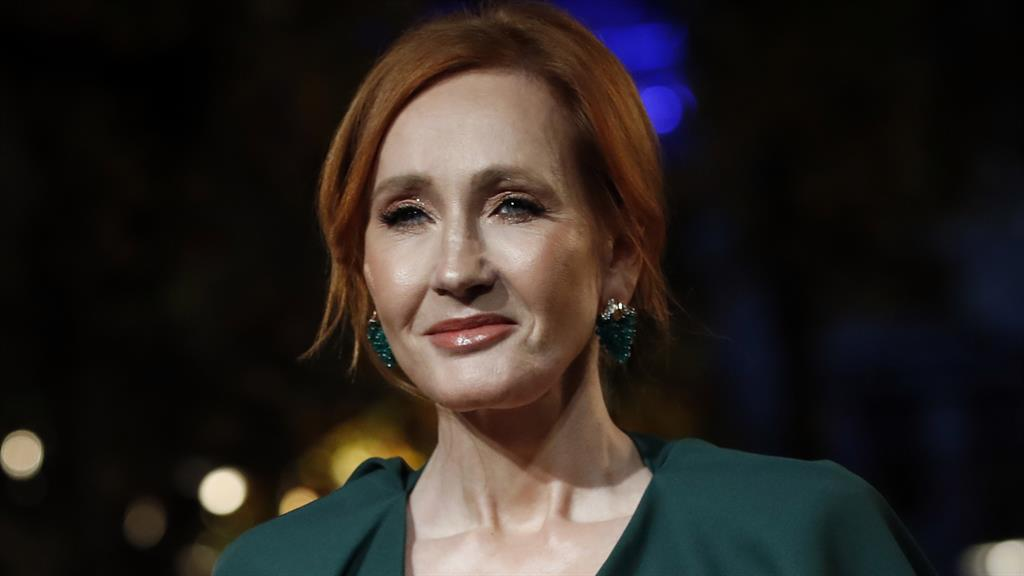 'Censorious': Rowling believes debate is being stifled, and, below, Atwood agrees PICTURE: AP