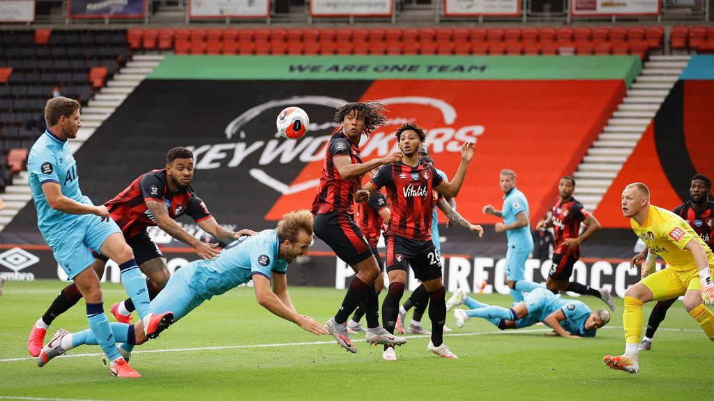 VAR denies Bournemouth late goal in draw with Spurs