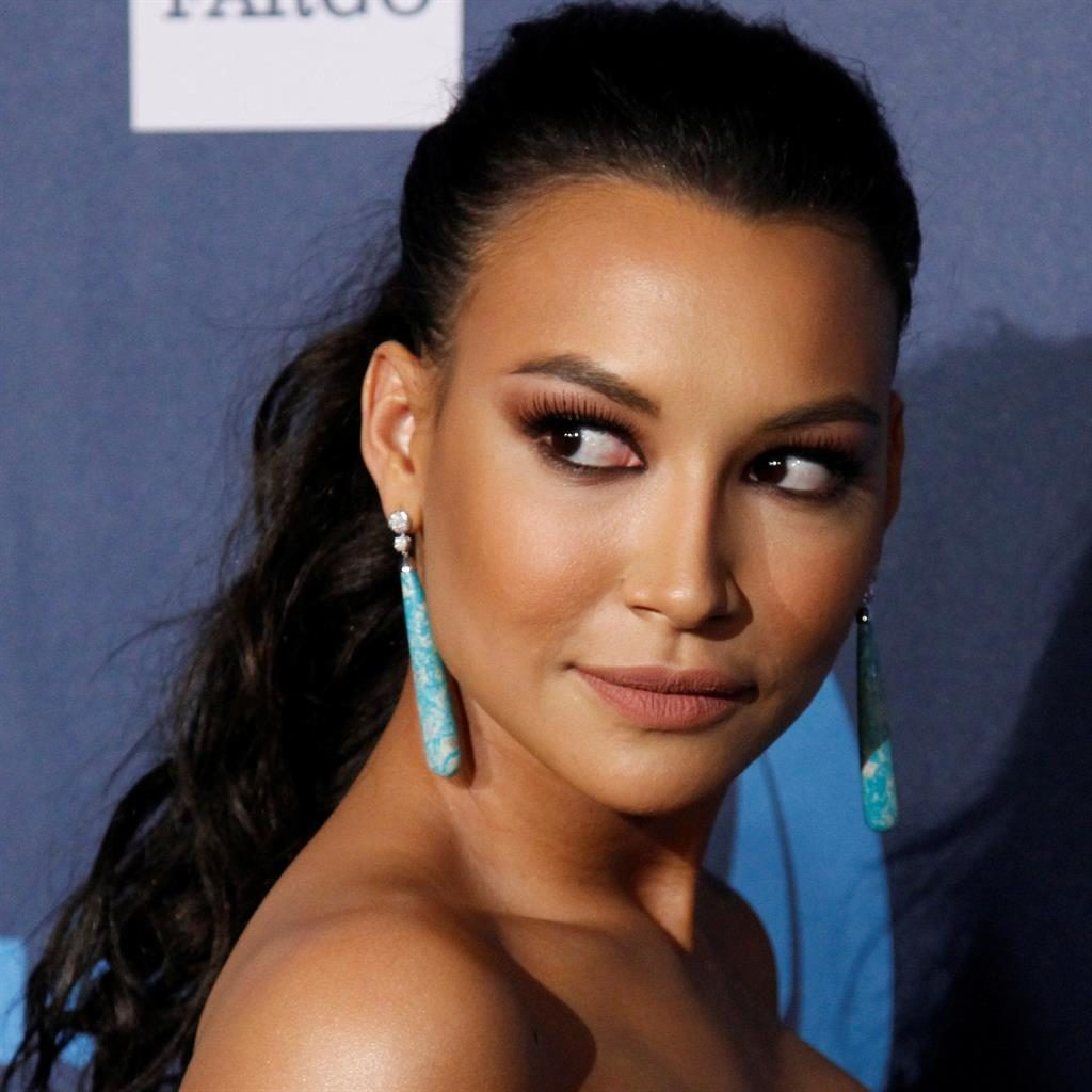 'Groundbreaking': Naya has been described in glowing terms by co-star Demi Lovato, below PICTURES: REUTERS