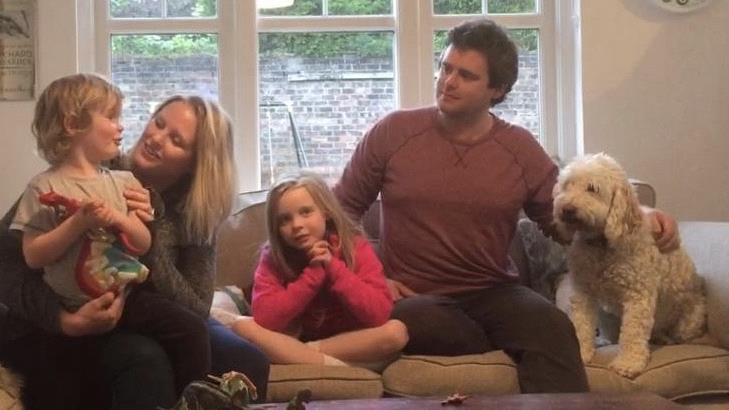 Buying blind: Rebecca, Martin and family moved to Herne Bay without having seen the place in person