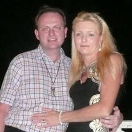 Court fight: Michael Loveridge with wife PICTURES: CHAMPION NEWS