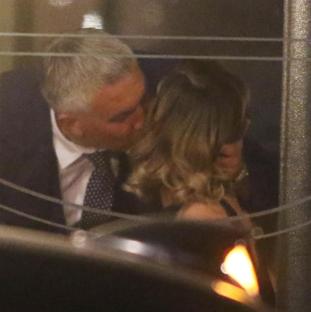 Choux stopper: Paul and Candice's kiss was a 'goodbye peck' PICTURES: GREG BRENNAN/REX