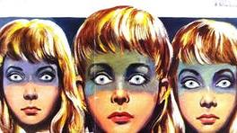 Uncanny: The Midwich Cuckoos of the 1960s film tap into our fears for the future PICTURE: METRO GOLDWYN MAYER