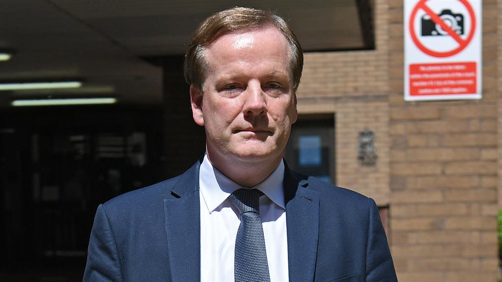At liberty: Elphicke leaving court today, but immediate custody is a 'very real possibility' PICTURES: PA