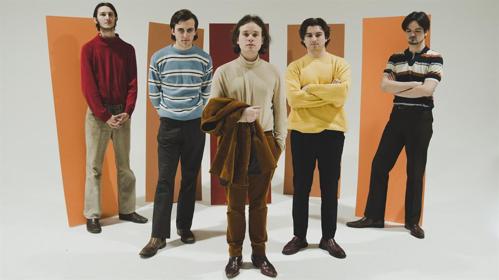 Children Of The State: From left: Corey Clifton, Harry Eland, John McCullagh, Conor O'Reilly and Nathan Keeble PICTURE: SAM CROWSTON