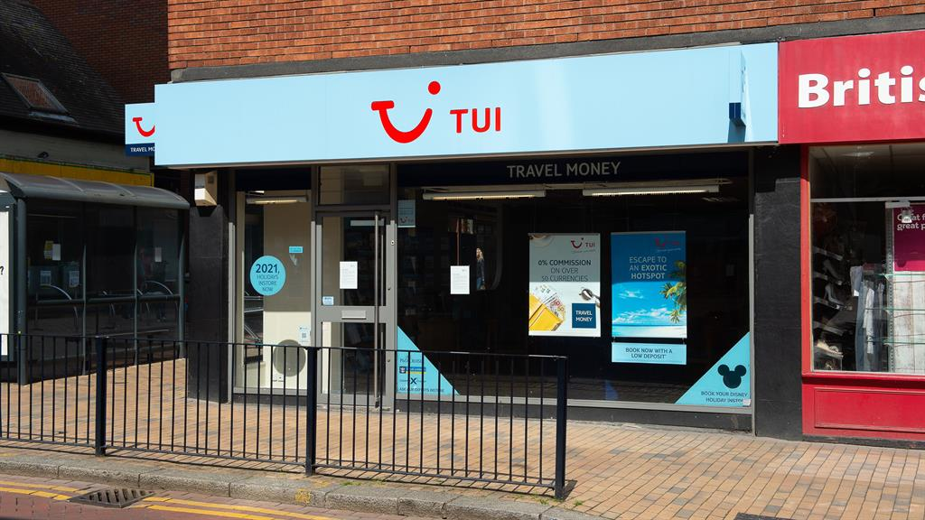 Cost cuts: Tui is closing 166 stores PICTURE: REX