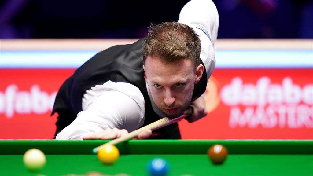 Gone to pot: Fans will have to wait until August 15 when the snooker final is due to be staged, before they can attend in person. Above, current World Champion Judd Trump  PICTURES: PA/GETTY