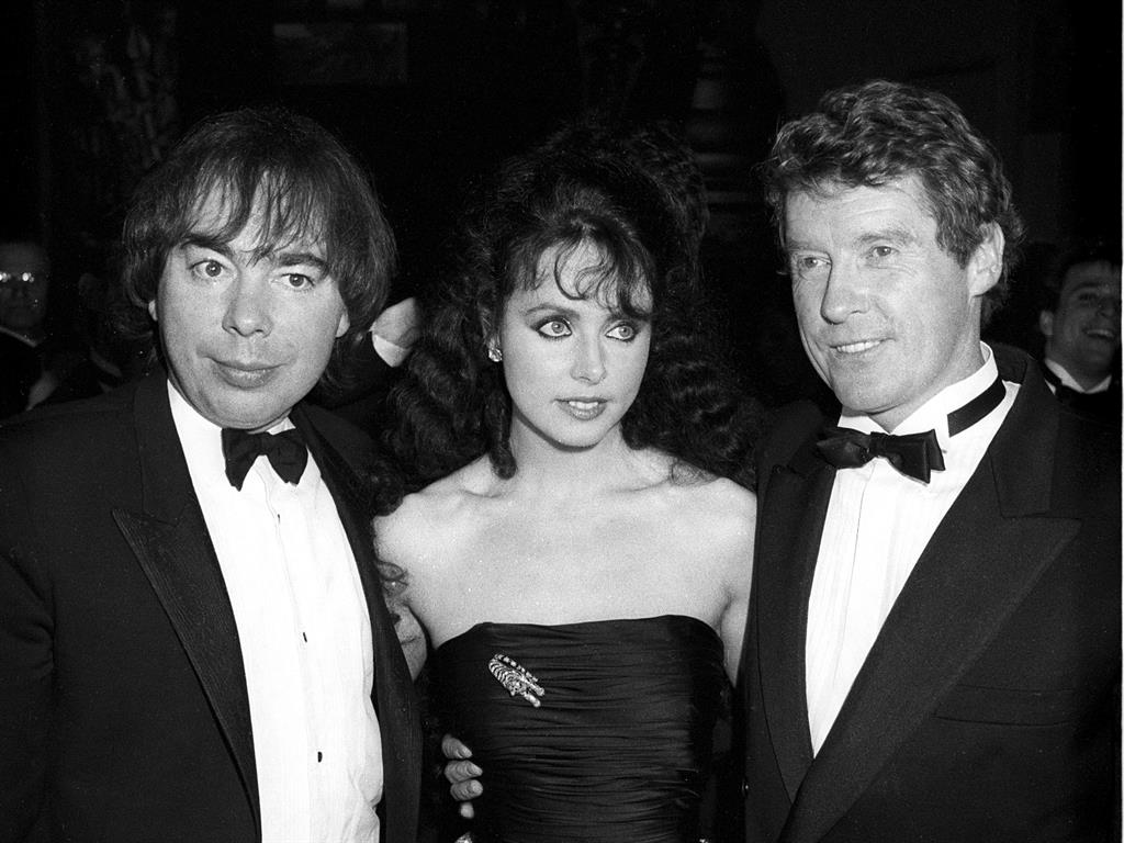 Andrew Lloyd Webber, Sarah Brightman i Michael Ball.