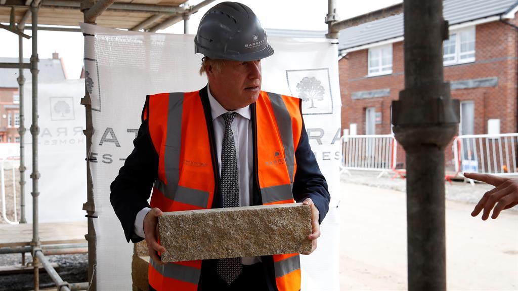 Concrete plans: Johnson wants simpler scheme PICTURE: GETTY