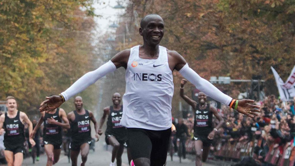 Star attraction: Kipchoge PICTURE: GETTY