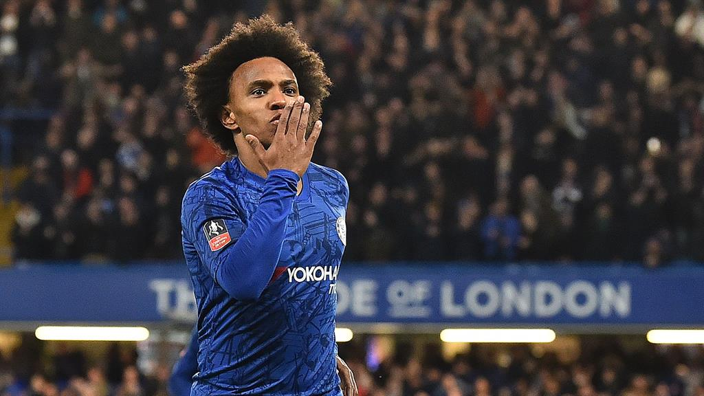 Willian To Leave Chelsea On A Free, Linked With Arsenal Move