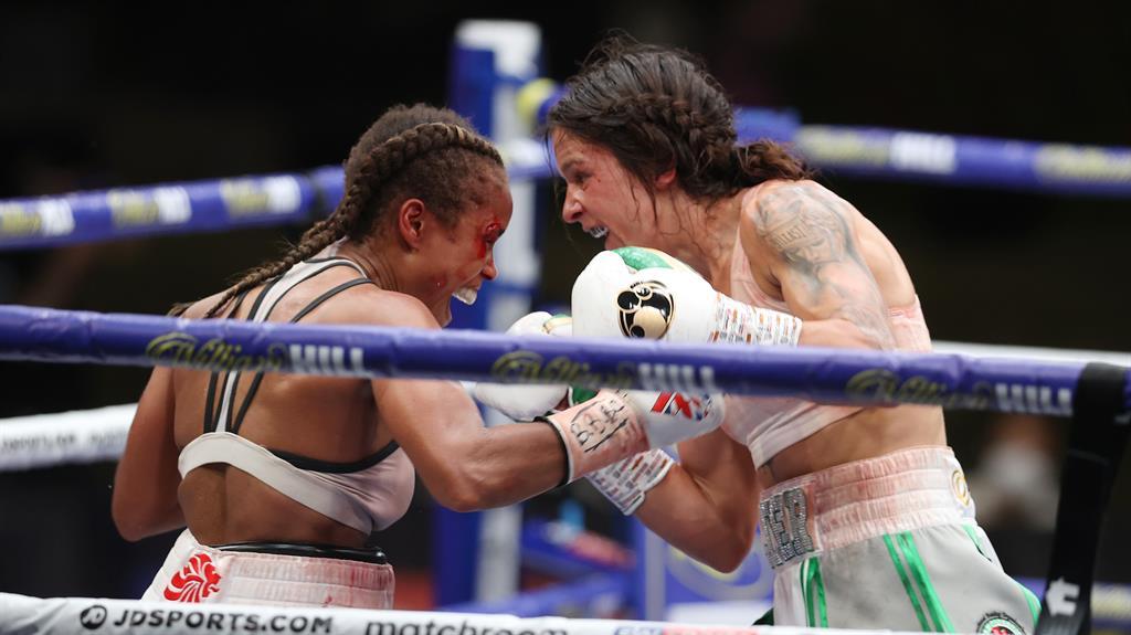 Natasha Jonas draws WBC title fight with Terri Harper