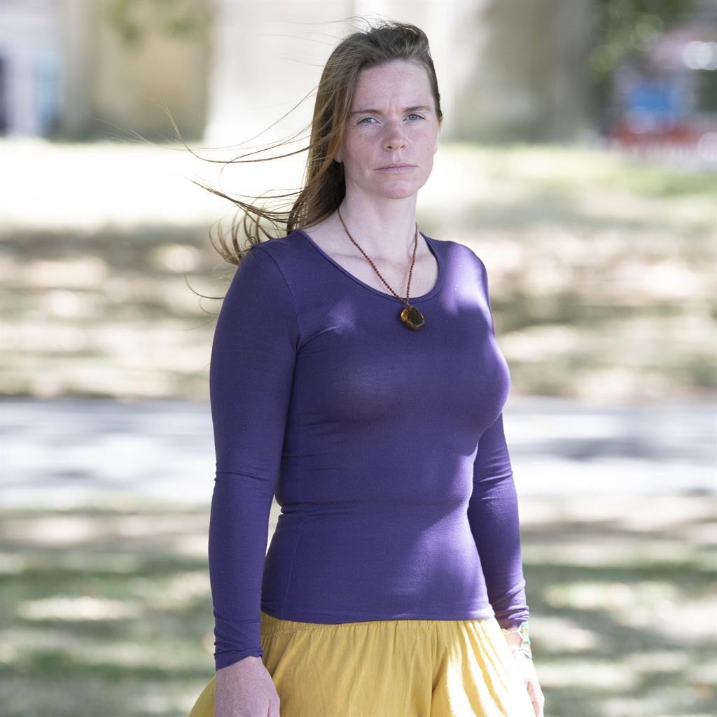 Mum-of-nine: Natalie Bracht is in UK PICTURE: MIRRORPIX