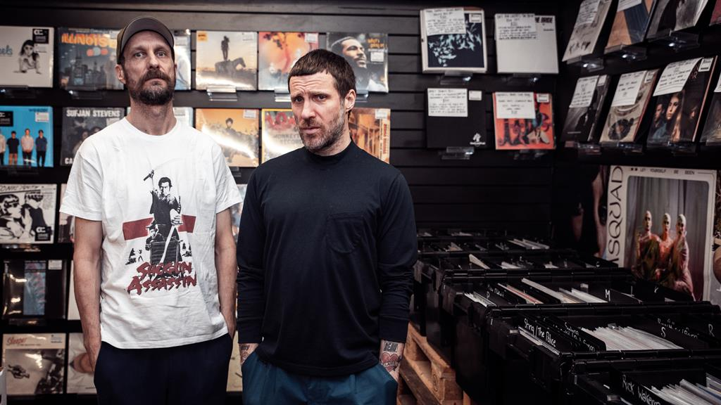 Mod for it: Sleaford Mods Andrew Fearn (left) and Jason Williamson