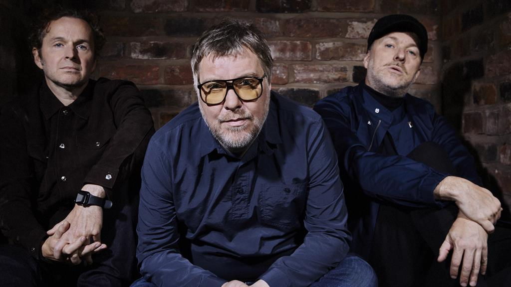 Labour of Doves: The long-running band are (from left): Andy Williams, Jimi Goodwin and Jez Williams
