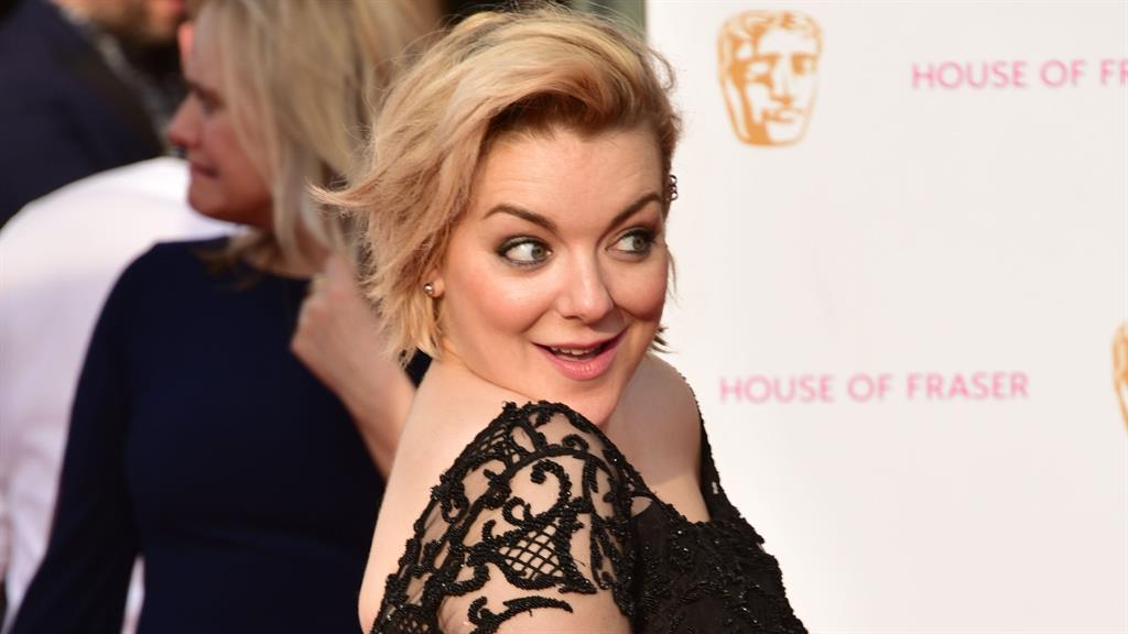 Fateful night: Sheridan at the Baftas in 2016 PICTURES: REX