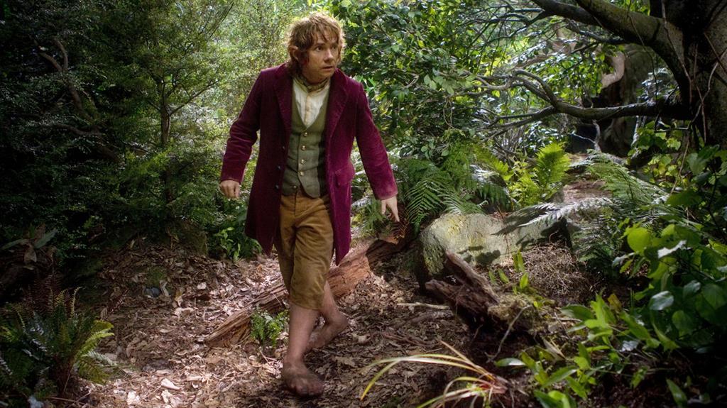 Jive Tolkien: Martin Freeman as Bilbo Baggins in The Hobbit PICTURE: REX