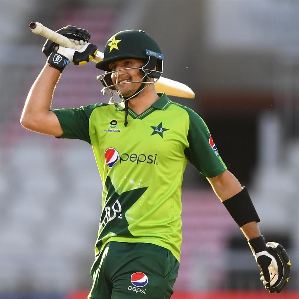 Fifty up: Haider Ali PICTURE: GETTY