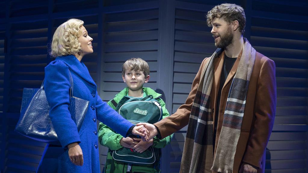 Little to love: Kimberley Walsh, Jobe Hart and Jay McGuiness star in hastily arranged show PICTURES: ALASTAIR MUIR